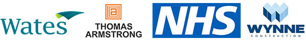 Accredited by Wates, Thomas Armstrong, NHS, and Wynne Construction