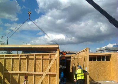 Liverpool Vets - Roof cassetts / Sips / Timber Frame
