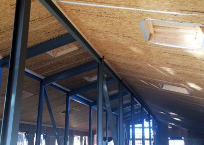 Roof Cassettes/SIPS - Wynne Construction, Anglesey
